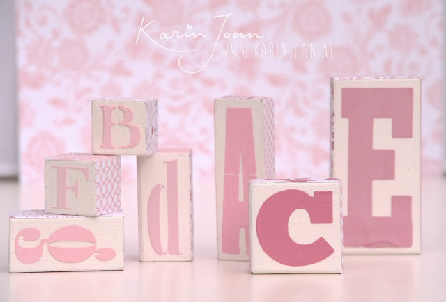 Alphabet blocks DIY by Karin Joan10