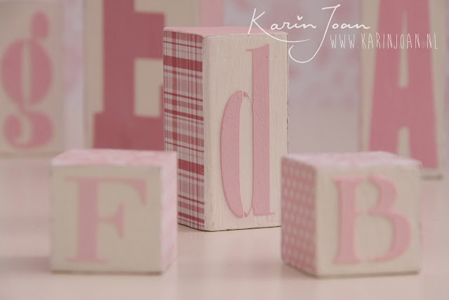 Alphabet blocks DIY by Karin Joan13
